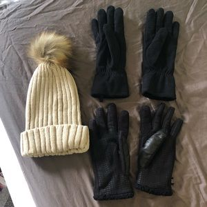 Accessories - Winter Gloves and Hat